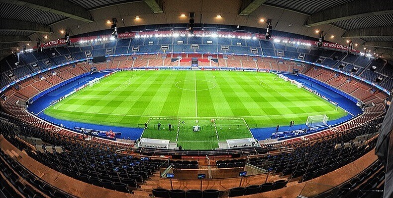 Parc des Princes – stadion Paris Saint-Germain